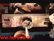 HEROOS-M390 Full Automatic Spiral Wound Gaskets Machine.mp4